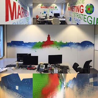 Wolters Kluwer Muurschildering 3.0 Marketing Deventer