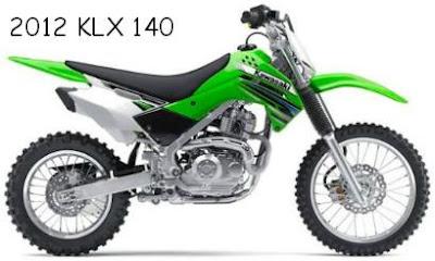 2012 Kawasaki KLX 140