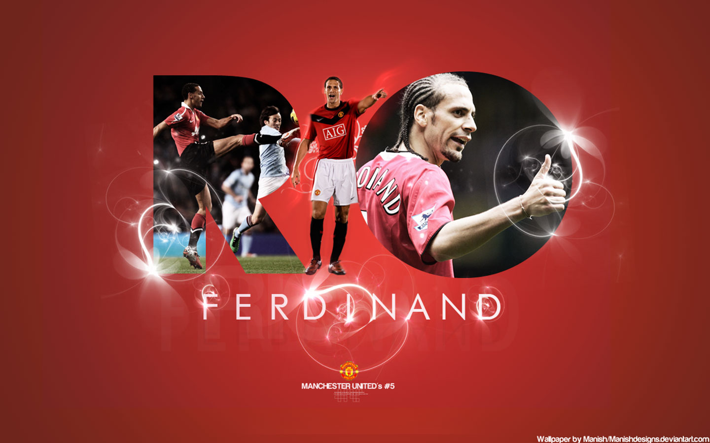 Rio Ferdinand Wallpapers Manchester United5