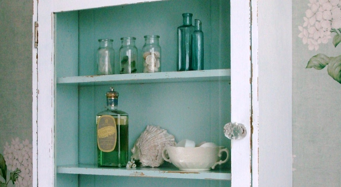 the fisherman 39 s cottage inside a cabinet