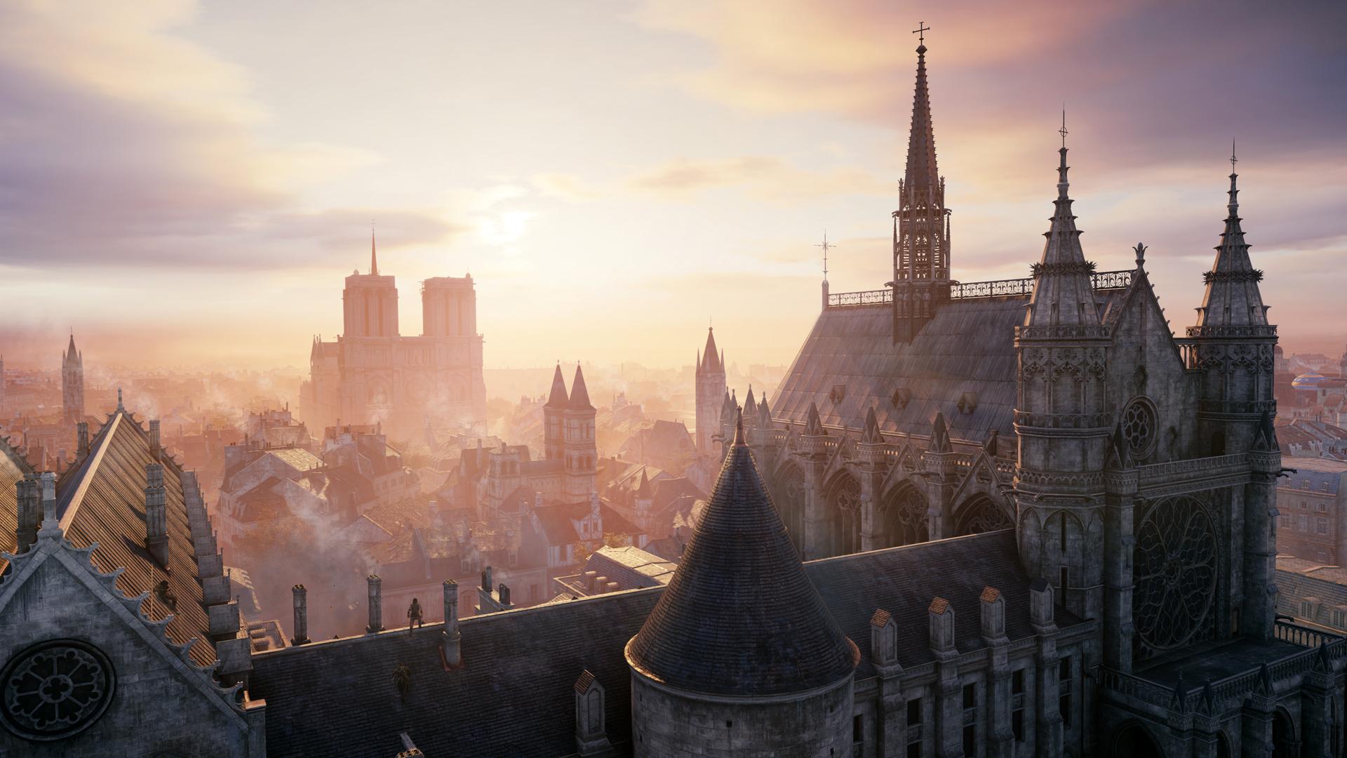 Assassins Creed Unity City HD Wallpaper