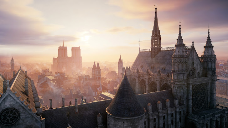 Assassins Creed Unity City