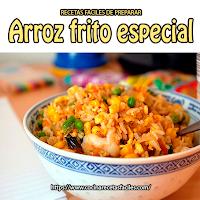 Recetas de arroz, Almuerzo o cena, , camarón, carne, cebolla, mantequilla, pimiento, pollo,