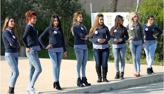 Duh! Cantiknya Kontestan Miss Irak yang BIkin Gemes