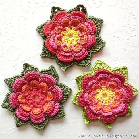 Calendarios 2012 Motivo Flores