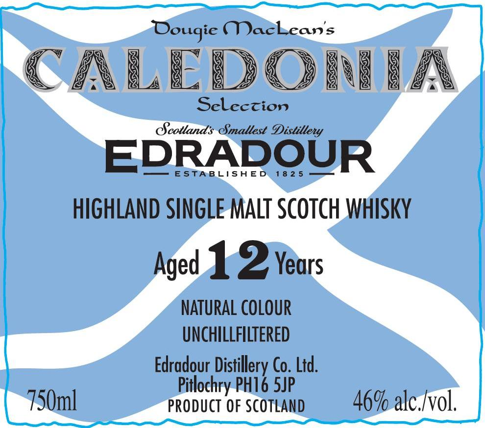 caledonia singles Buy edradour 12 year old caledonia highland single malt scotch whiskey a special sherry cask release specially selected by dougie maclean and named after his famous song, caledonia written.