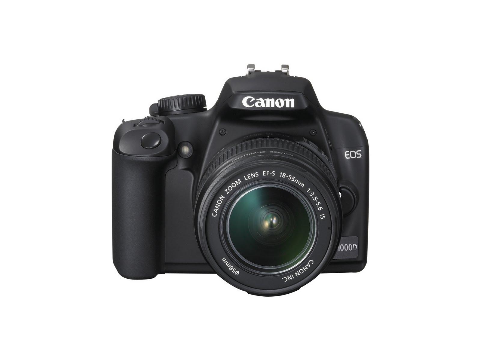 Canon EOS 1000D Rebel XS DSLR camera 1