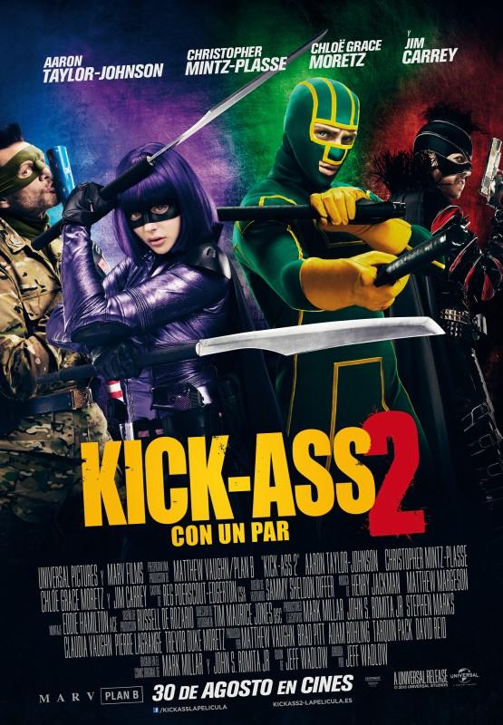 Kick ass 2, con un par (2013)