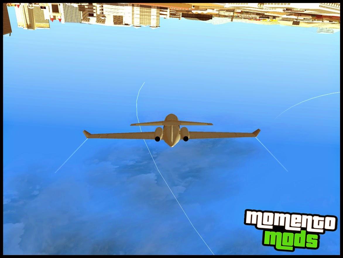 GTA SA - Câmera Em Aviões Igual Do GTA V