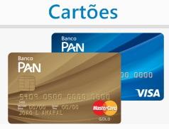 Cartões Panamericano pela Internet