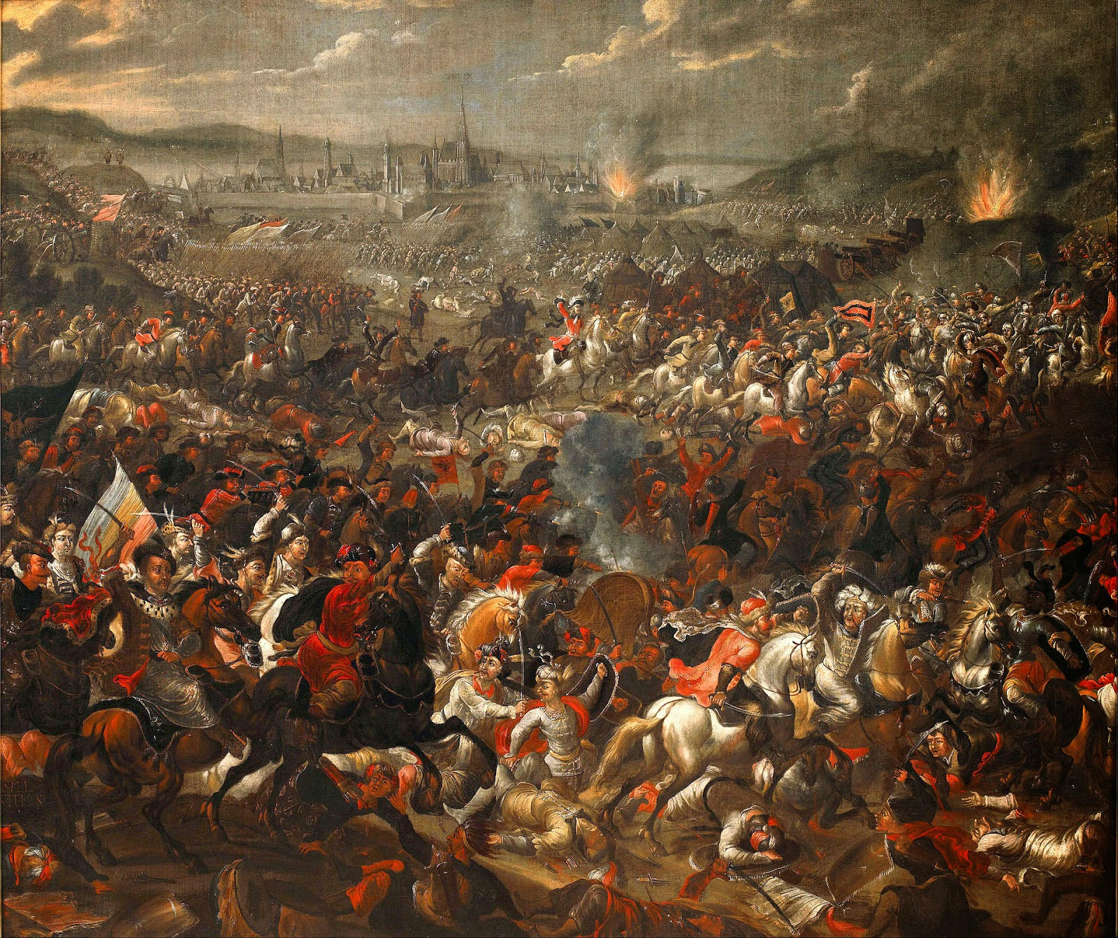 The Battle of Vienna, September 11, 1683