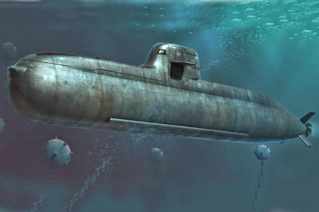 Bangladesh Navy Submarine Type 035 Ming class