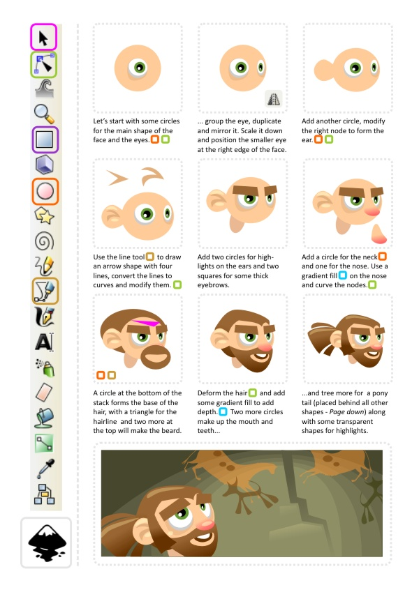2d Animation Character Design Tutorial : Character animation d game art for programmers