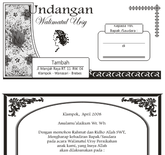 ... Walimatul Ursy Pernikahan CDR Bisa Diedit Gratis | Download Gratis