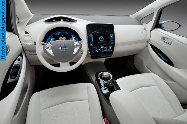 Nissan leaf car 2011 interior - صور سيارة نيسان ليف 2011 من الداخل
