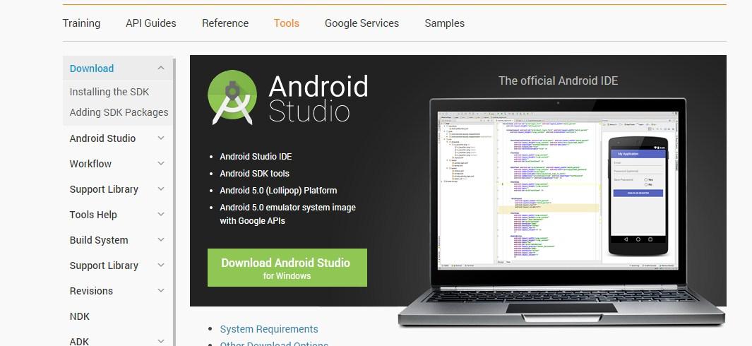 Android Studio 1.0,Google,Android,Aplikasi,App,IDE,Eclipse