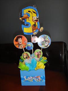 Centros de Mesa Toy Story, parte 1