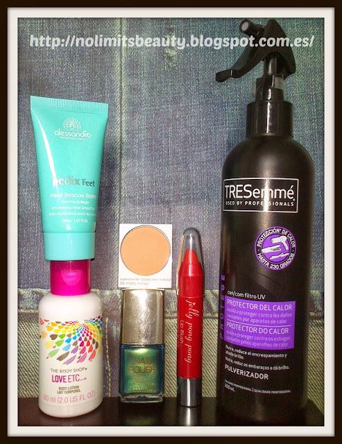 Intercambio de productos de cosmética y maquillaje