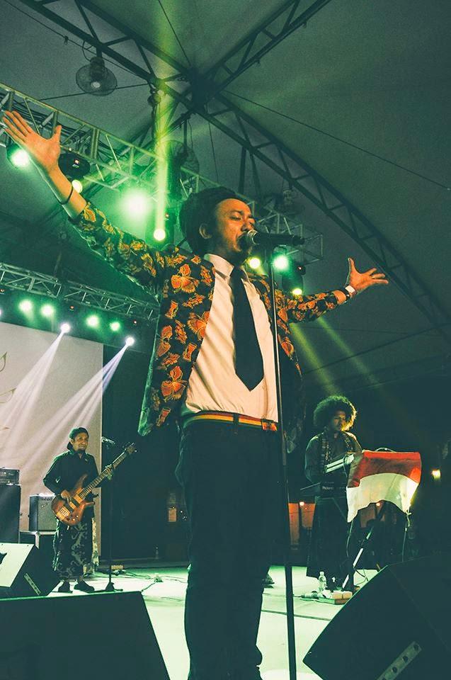 Ras Muhamad Jadi 'Raja' di Asia Music Festival 2014