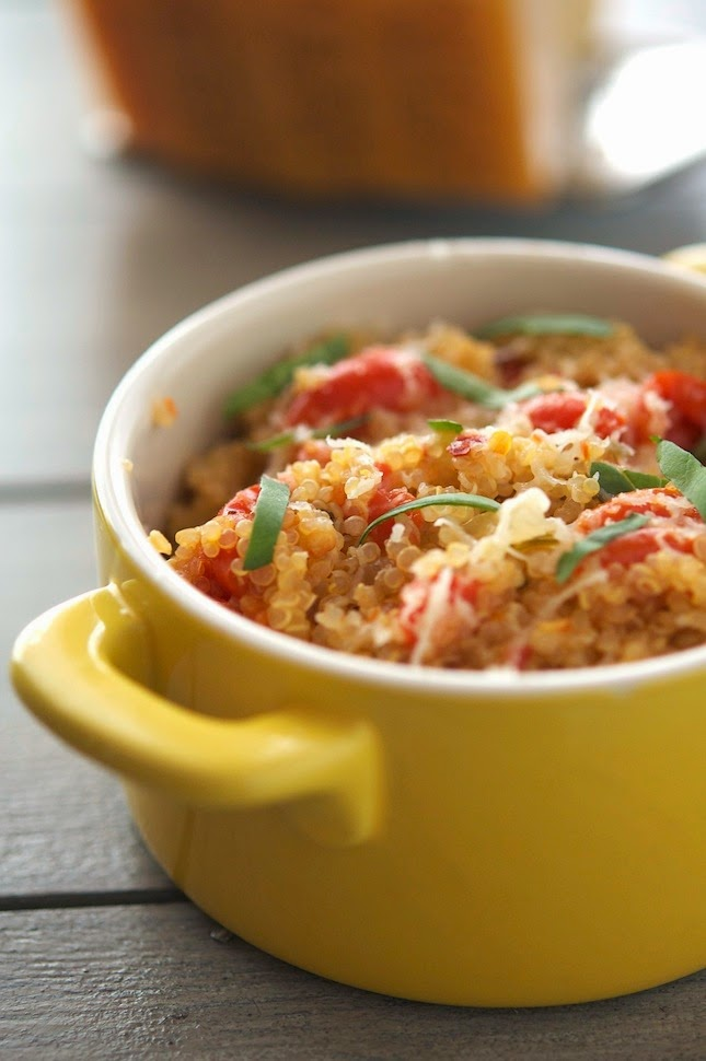 One-Pan Mediterranean Quinoa