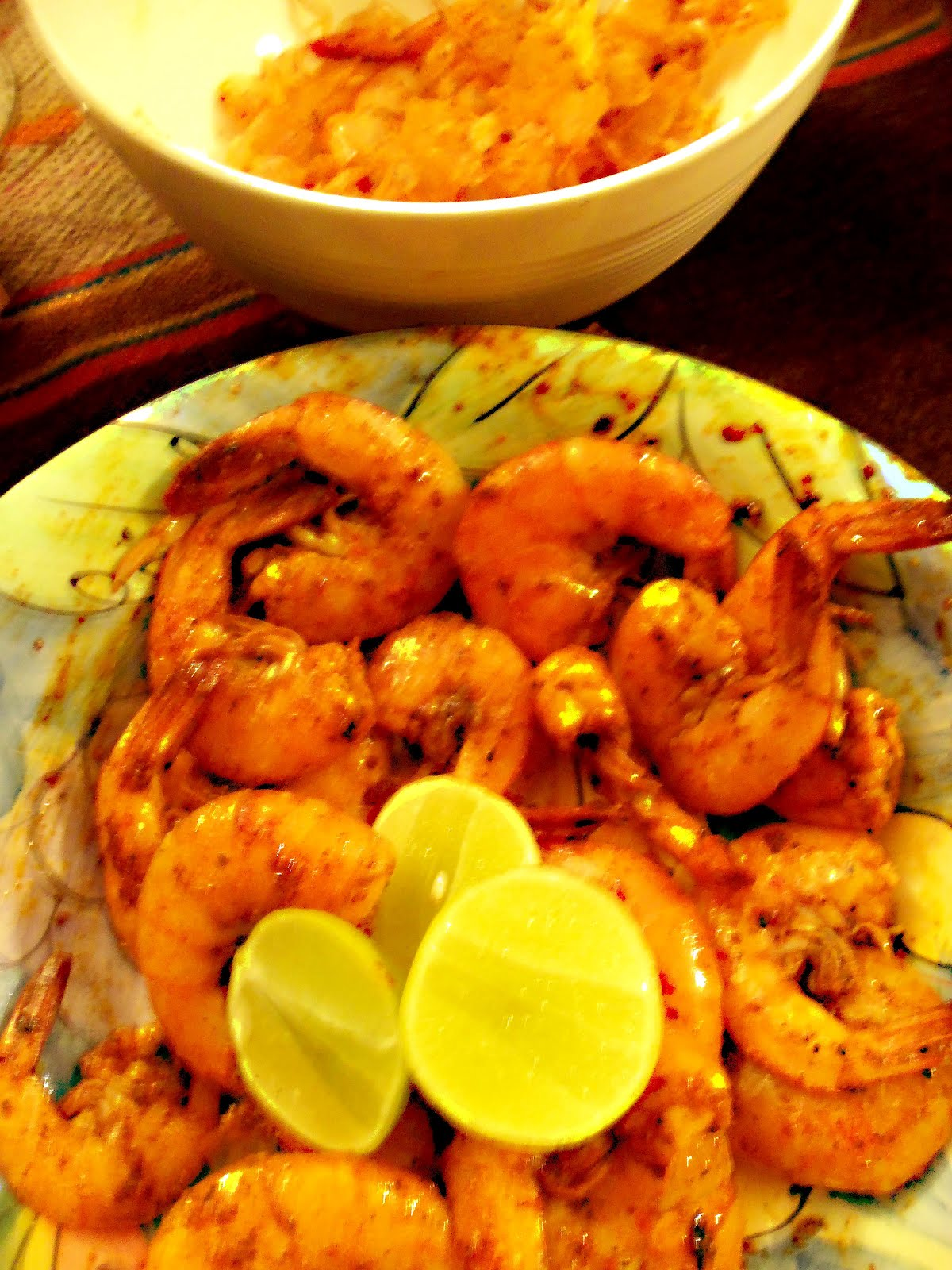 ... style shrimp gets it s wonderful flavour from achiote paste annatto