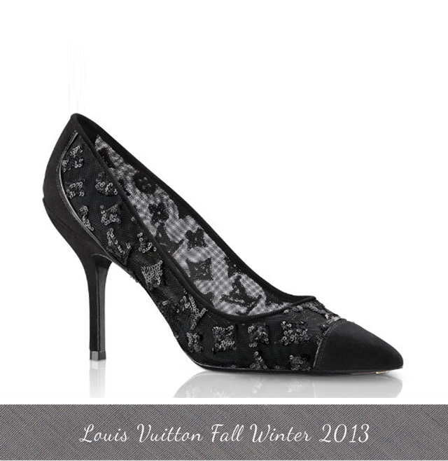 Louis Vuitton Night Call Pumps  Louis Vuitton Fall Winter 2013 Shoes