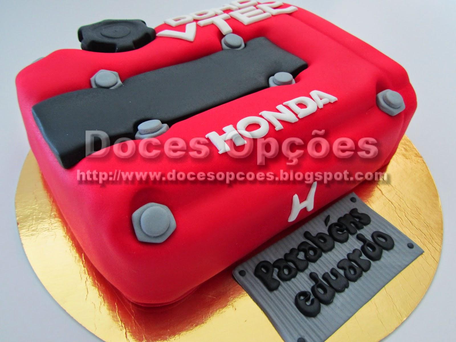 Bolo aniversário Honda VTEC