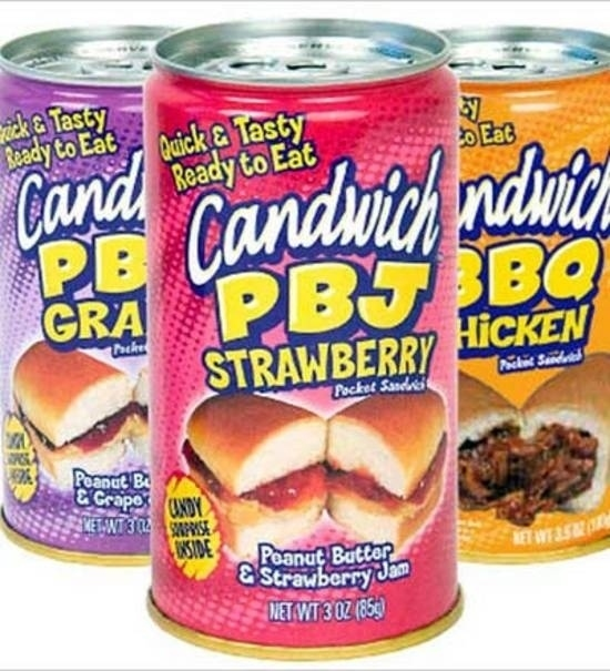 Nice n funny strangest canned foods for Canned fish assholes