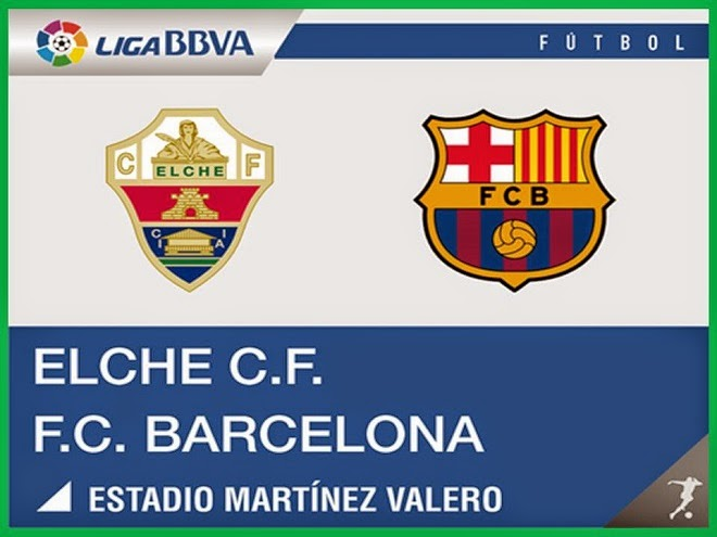 InfoMixta - Informacion al instante. REPETICION ELCHE VS FC BARCELONA. Goles, Resultados, Estadisticas, Online