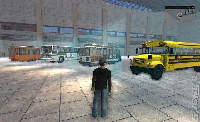 Bus Cable Car Simulator Game