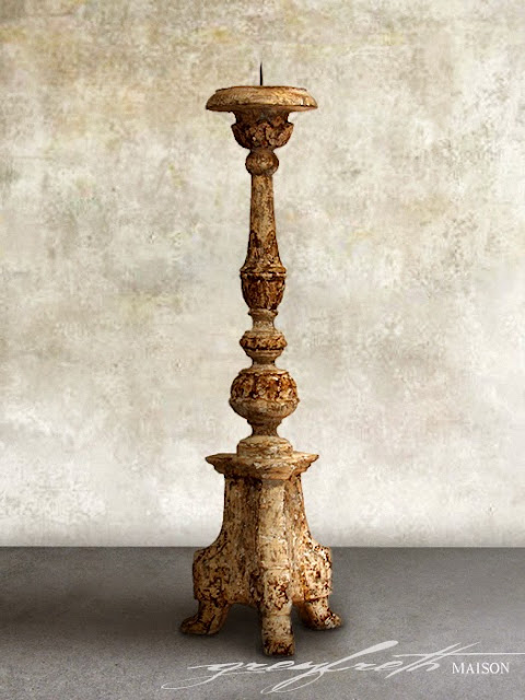 Altar Candlesticks at Greyfreth Maison
