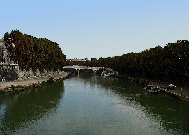 Rome and the river Tiber