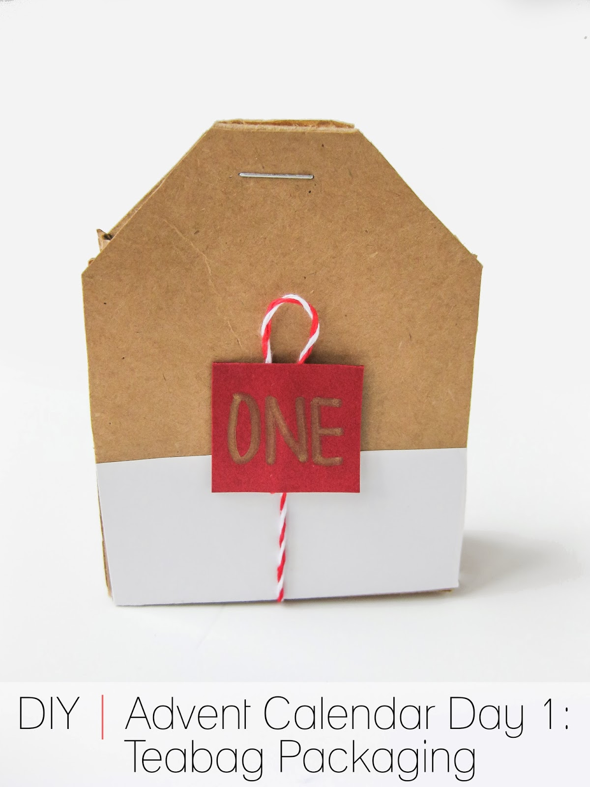 Calendar Advent Diy : Cafe craftea diy advent calendar day tea bag packaging