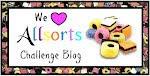 I won Allsorts Anything but square challenge 7th Sept 2012