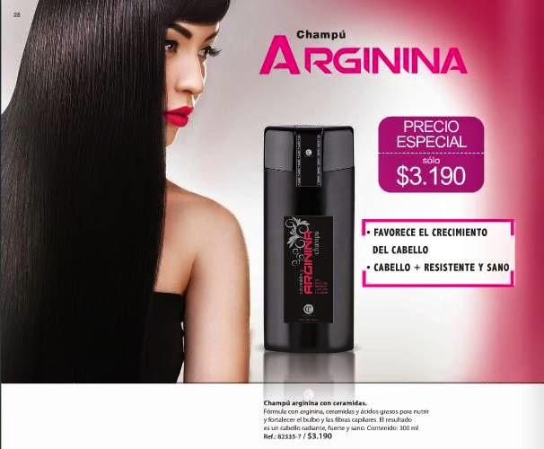 Champú Arginina Campaña 1 2015 Chile