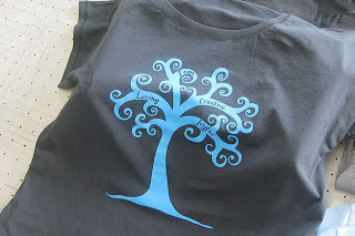Positive Threads Eveningsong Ink tree t-shirt