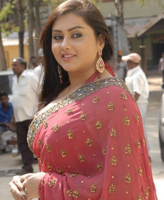 namitha+hot+photos+in+saree