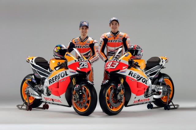 Moto Honda RC213V 2013 pilotos Dani Pedrosa e Marc Márquez