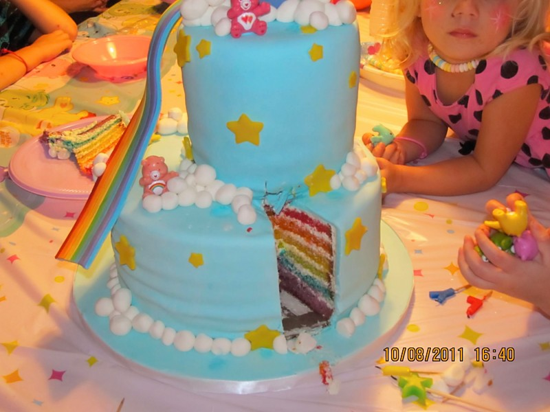 Wendy Woo Cakes Care Bears Cake