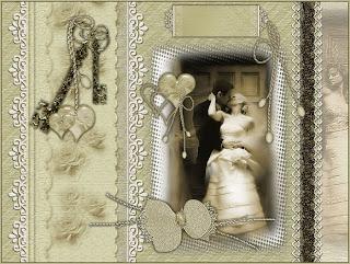 Idée carte de voeux mariage
