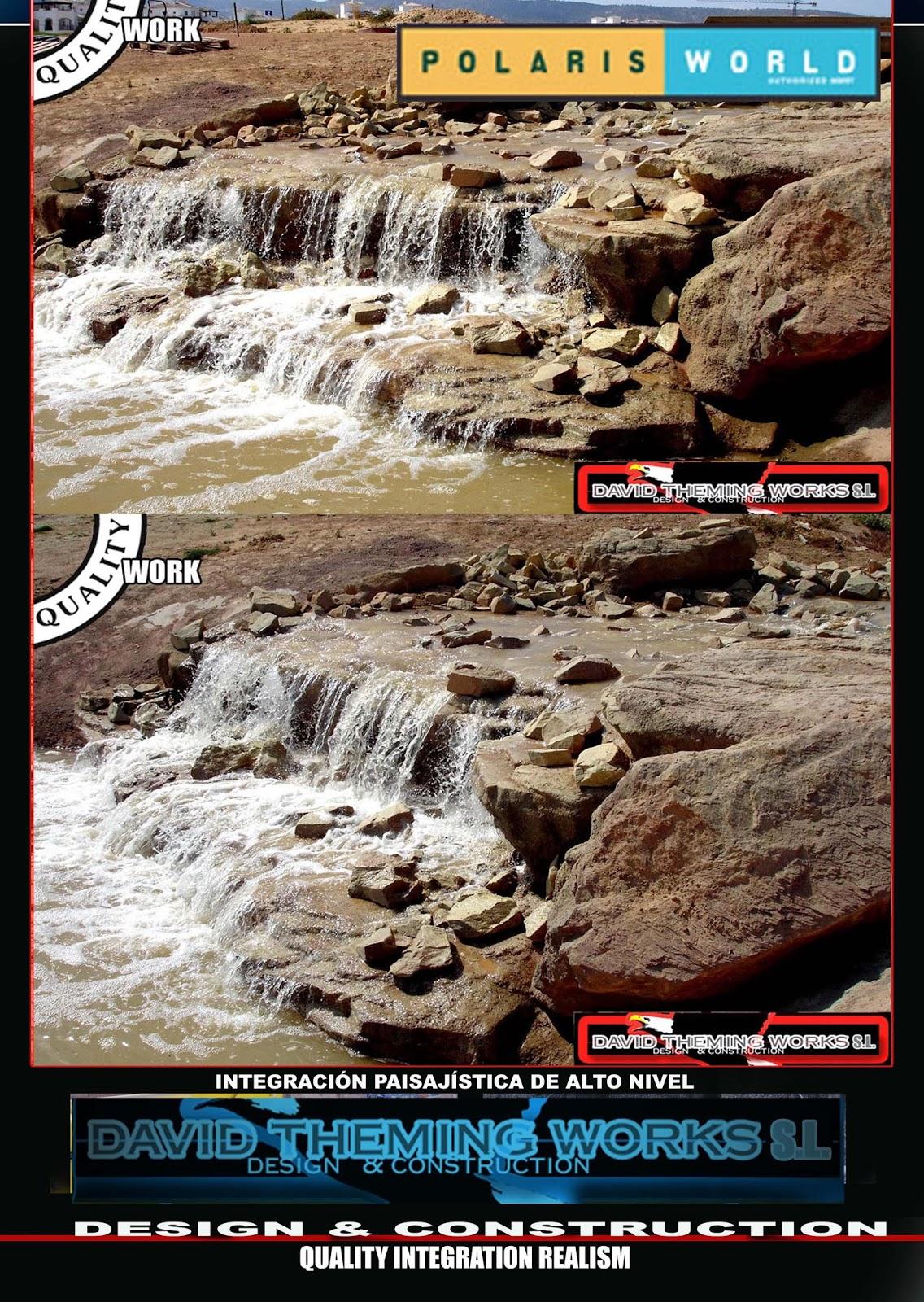 Estanques cascadas y r os artificiales ponds waterfalls for Cascadas de estanques