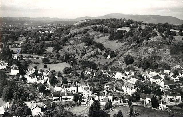 CPA Antignac, Cantal.