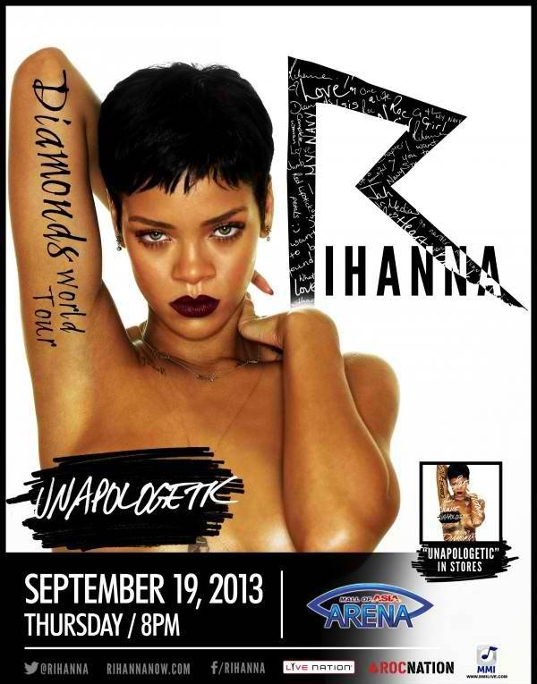 Rihanna Live in Concert