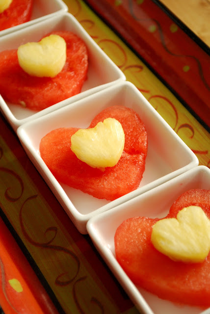 Healthy Valentines snack for kids or classroom party