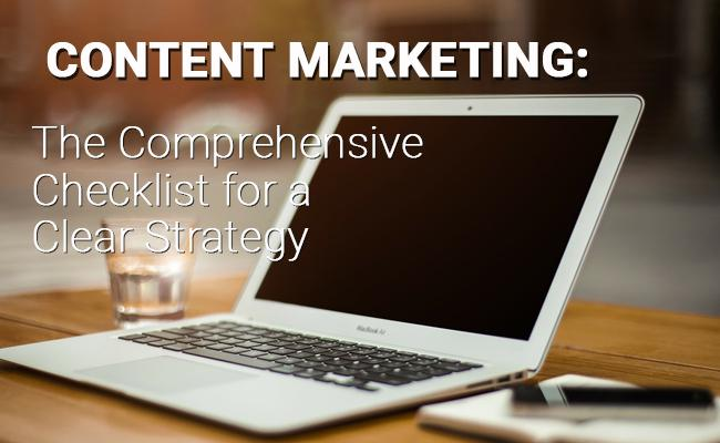 Content Marketing Checklist