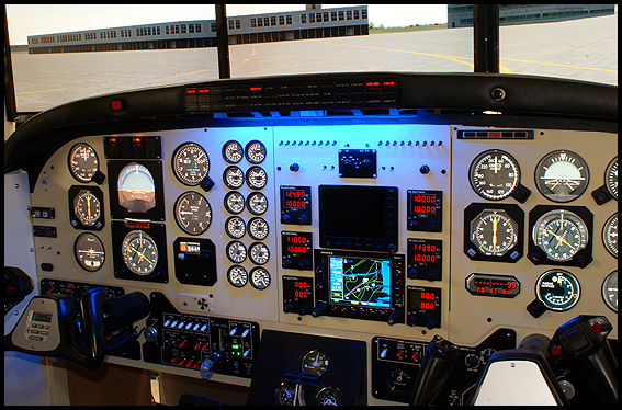 Ruscool Electronics King Air C90 Synthetic Trainer