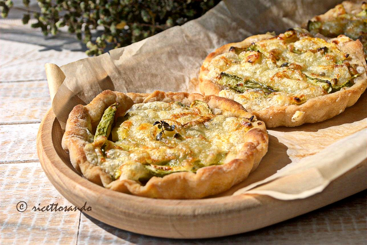 Lepizzottine pizzette di farro alle zucchine ricetta lievitati