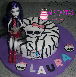Gira-tiempos: Decoración para fiestas de Monster High (parte 3)