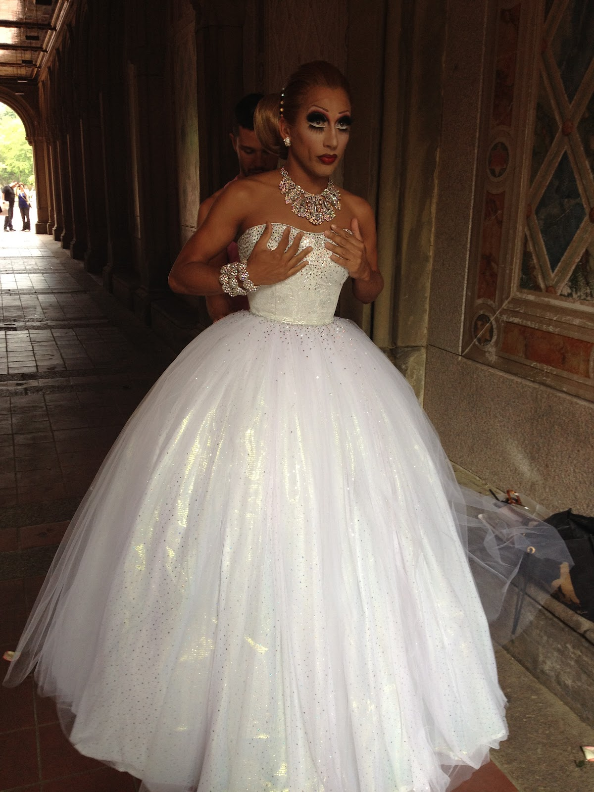 what the ELLE?!: Behind the Scenes with Bianca Del Rio for Next ...