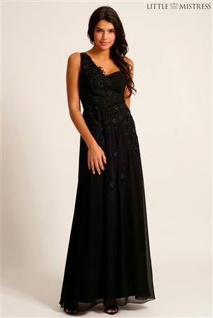 Little Mistress One Shouldered Maxi Dress: Affordable Wedding Dresses - Paint it Black